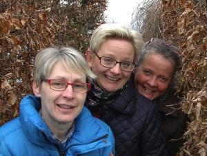 Initiativtagare i fallande ordning, från vänster till höger: Ingela Caswell, Ulrika Norell, Margareta von Rosen Fotograf Henrik Knobe, Laholms tidning